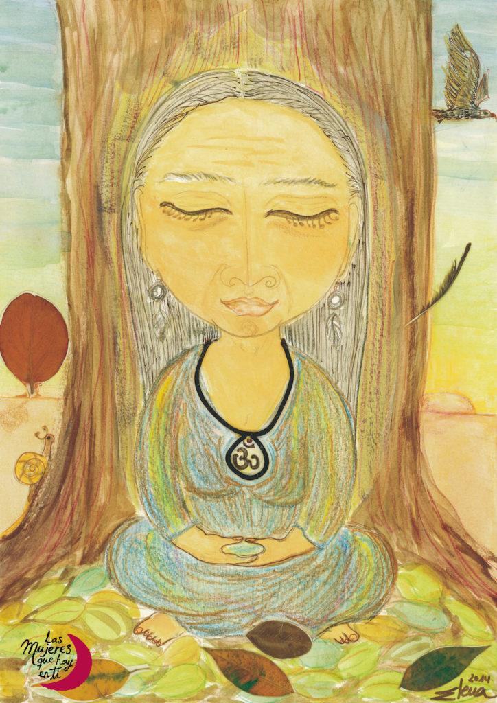 La Sabia Meditadora por Elena Caballero